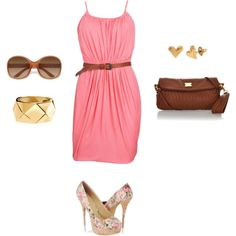Dress/Belt/Sunglasses/Earrings/Bracelet/Clutch/Heel
