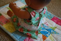 Baby doll clothes pattern