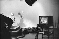 "© Robert Frank, ""The Americans"".  Television studio. Burbank, California, 1956"