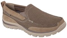 Skechers Mens Relaxed Fit Milford Slip On Shoes 10.5, Men's, Size: 10.5M, Brown