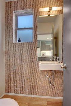 modwalls CorkDotz cork mosaic sustainable penny tile