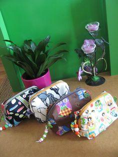 Meine selbstgemachten Kosmetiktaschen Crocs, Sandals, Fashion, Artworks, Homemade, Projects, Bags, Kids, Moda
