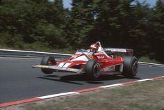 Niki Lauda at the 1976 German Grand Prix, Nürburgring
