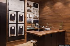 Lululemon Vancouver flagship, on-site tailoring