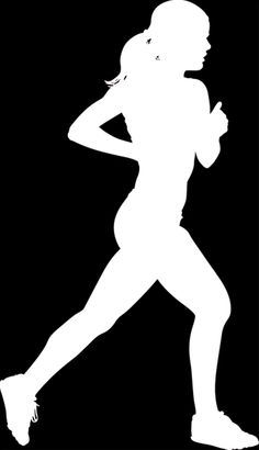 Images For > Cross Country Runner Silhouette