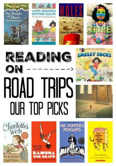 Audiobook suggestions and resources for your next family road trip.