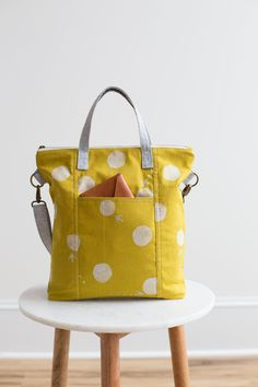 Yellow Redwood Tote - Noodlehead