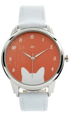 Cat Ears Watch Wristwatch / Funny Romantic Watch / by ZIZWatches, €45.00