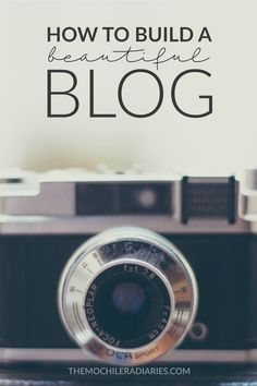 Tools to help you build a beautiful blog, from getting set up with hosting to…