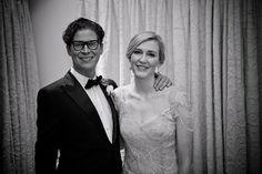 Fabulously Glamorous Bridal Couple. See more here: Fabulously Glamorous Vintage White Wedding, Johannesburg | Confetti Daydreams ♥  ♥  ♥ LIKE US ON FB: www.facebook.com/confettidaydreams  ♥  ♥  ♥ #Wedding #RealBride #RealWedding #VintageWedding #Vintage