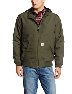 Carhartt Men's Big & Tall Quick Duck Jefferson Active Jacket,Olive,Large Tall Carhartt ++ You can get best price to buy this with big discount just for you.++