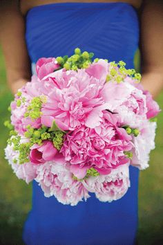Blue and pink wedding colour  ... Wedding ideas for brides & bridesmaids, grooms & groomsmen, parents & planners ... https://itunes.apple.com/us/app/the-gold-wedding-planner/id498112599?ls=1=8 … plus how to organise an entire wedding, without overspending ♥ The Gold Wedding Planner iPhone App ♥