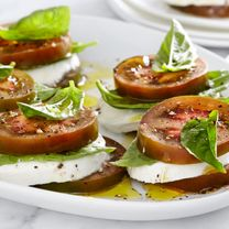 PC Kumato Tomato Stacks (no dressing - maybe olive oil s&p)
