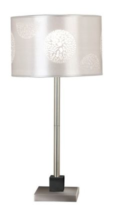 Special Offers - Kenroy Home 20962BS Cordova Table Lamp Brushed Steel with Graphite Accents - In stock & Free Shipping. You can save more money! Check It (June 26 2016 at 12:15PM) >> http://tablelampusa.net/kenroy-home-20962bs-cordova-table-lamp-brushed-steel-with-graphite-accents/