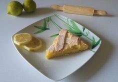 Crostata con crema pasticcera al limone