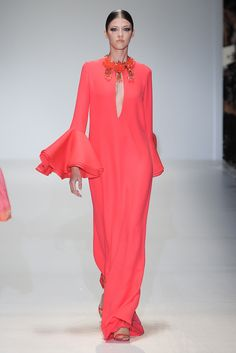 Gucci Spring 2013 Ready-to-Wear Fashion Show - Yulia Kharlapanova