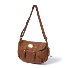 Austin Faux Leather Crossbody Bag