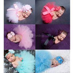 Baby Kind Neugeborenes nettes Foto Fotografie Prop Kostüm Tutu Decke Hintergrund