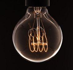 Weinlese-Medium Globe Gluhbirne mit Gluhwendel 40w (altmodische Edison) Bajonettverschluss: Amazon.de: Beleuchtung