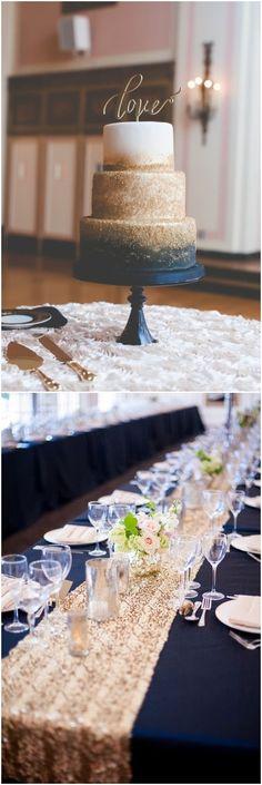 navy blue and gold wedding color combo ideas for 2018 #blueweding #weddingcolors #weddingideas / http://www.deerpearlflowers.com/navy-blue-wedding-color-combo-ideas/