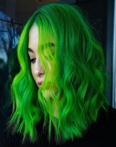 Hair Colors The Hottest Neon Hair Colors to Try in 2019 Neon Hair Color, Neon Colors, Hair Colors, Mom Hairstyles, Black Women Hairstyles, Bright Makeup, Love Hair, Hair Highlights, Hair Trends