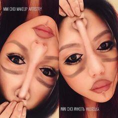 confounding dazzle face makeup by Vancouver makeup artist Mimi Choi
