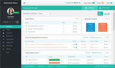 Web Portal needs UI Update by AfroDash