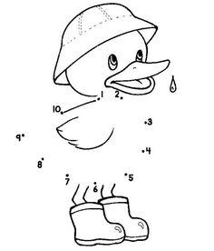 dot to dot duck