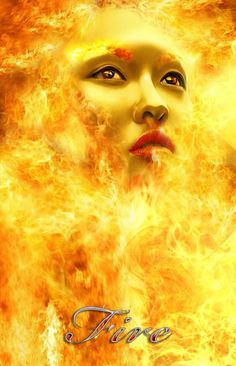 "Elements Fire: "" Element,"" by Marisela Cabrera. Wicca, Pagan, Let It Burn, Reading Food Labels, Fire Image, Hawaiian Art, Into The Fire, Fire Powers, Dark Skies"