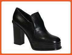 315d390d81117 Céline Women s Black Leather Peep Toes Shoes - Size  8 US - Flats for women