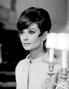 "Audry Hepburn in dress and jacket by Givenchy for the movie ""How to Steal a Million"", photo by Pierluigi, 1965"