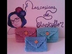 MONEDERO A GANCHILO   CROCHET COIN PURSE (Especial día de la madre) - YouTube Crochet Clutch Bags, Crochet Coin Purse, Crochet Purse Patterns, Crochet Pouch, Crochet Keychain, Crochet Purses, Crochet Doilies, Crochet Crafts, Crochet Projects