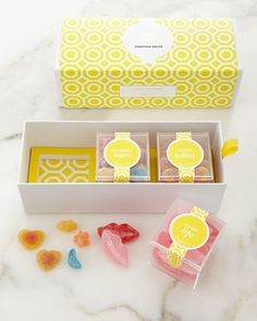 Jonathan+Adler+Chic+&+Sour+3-Piece+Bento+Box+by+Sugarfina+at+Neiman+Marcus.
