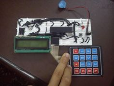 Keypad Locking System with User Defined Password
