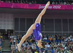 Jordyn Wieber, gold medal in gymnastics at 2012 London Games | Olympians watching Olympics