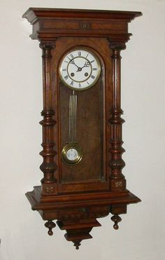 This is so much like mine...but mine is a Gustav Becker...one of the last made by hand in the Black Forrest around 1889