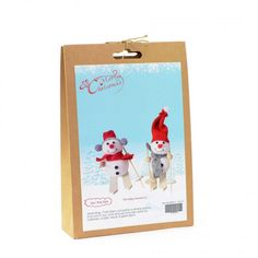 Christmas Novelty DIY Craft Kit Create two skiing snowmen. Have fun creating Christmas decorations to hang around your home or to give as a special handmade gift. Craft Kits, Diy Kits, Craft Projects, Christmas Crafts, Christmas Decorations, Christmas Ornaments, Fun Crafts, Crafts For Kids, Snowmen