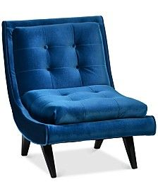 Show Details For Tampa Navy Accent Chair Research Torres