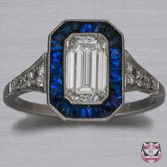amazing art deco ring