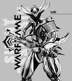 loki prime with paris prime #warframe