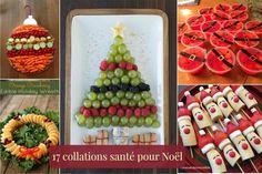 17 idées de collations santé pour Noël