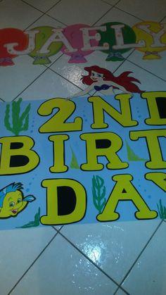 La Sirenita birthday barne