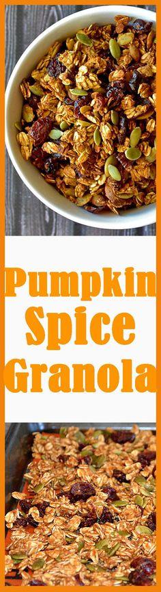 Vegan Pumpkin Spice Granola