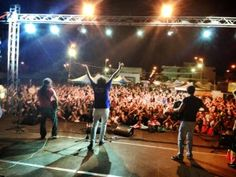 Pizzica Concert..the best band! AllaBua 5 July at Surbo