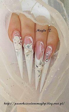 Gorgeous white stilettos