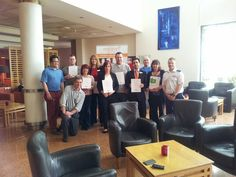 Some of the Maldron Hotel Belfast staff who achieved completed their first aid course. Maldron Hotel, First Aid Course, Belfast, Conference Room, Home Decor, Decoration Home, Room Decor, Meeting Rooms, Interior Design
