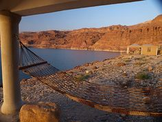 hammock on the Dead Sea? Yes, please!
