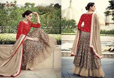 New long Punjabi Indian Pakistani Designer Wedding Ladies Anarkali Shalwar Dress #ChacheDiHatti #SameispictureUnstitched