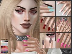 Nails in 45 colors. Found in TSR Category 'Sims 4 Female Rings' - Nails in 45 colors. Found in TSR Category 'Sims 4 Female Rings' Nails in 45 colors. Found in TSR Category 'Sims 4 Female Rings' The Sims 4 Skin, The Sims 4 Pc, Sims Four, Los Sims 4 Mods, Sims 4 Game Mods, Sims 4 Cc Eyes, Sims Cc, Sims 4 Nails, Cc Nails