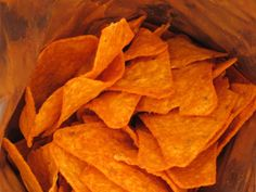 Are you even AWARE of how delicious Nacho Cheese Doritos are consumed? Doritos, Savory Snacks, Snack Recipes, Cheesy Nachos, Sweet Potato Chips, Nacho Cheese, Rainbow Theme, Foods To Avoid, Different Recipes